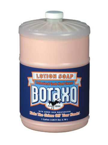Boraxo 02709 Liquid Lotion Soap, Pink, Floral Fragrance, 1gal Bottle (Case of 4)