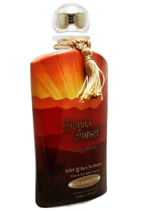 2010 California Tan Sienna Sunset Octo (8) Bronzers Step 2 Dark Tan Booster Tanning Lotion 12 oz