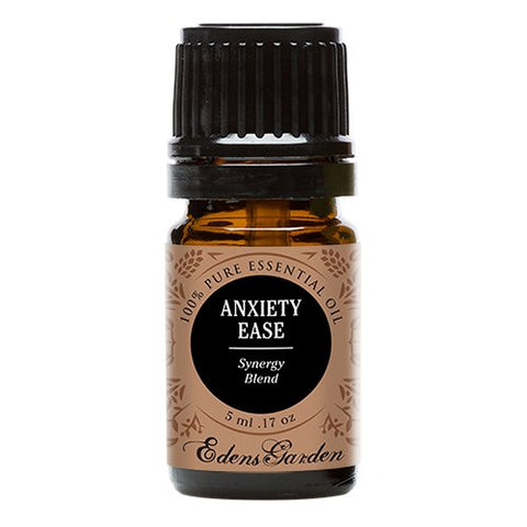 Anxiety Ease Synergy Blend Essential Oil by Edens Garden- 5 ml (Lemongrass, Sweet Orange and Ylang Ylang)