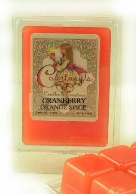 CRANBERRY ORANGE SPICE Mixer Melt or Wax Tart by Courtneys Candles