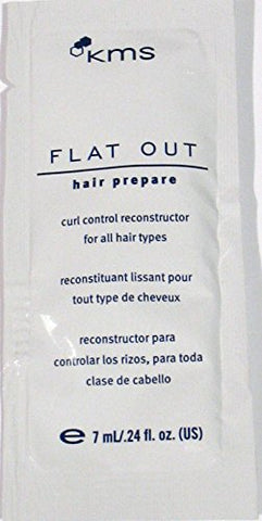 KMS Flat Out Hair Prepare 8.64oz (36 Travel/Sample Packs)