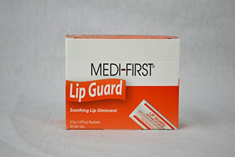 1515799 PT# 26671 Lip-Guard Lip Ointment .5gm in Packet 20/Bx Made by Medique Pharmaceuticals