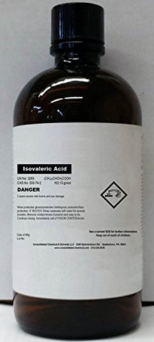 Isovaleric Acid Fragrance/Aroma Compound High Purity 120ml (4 fl oz)