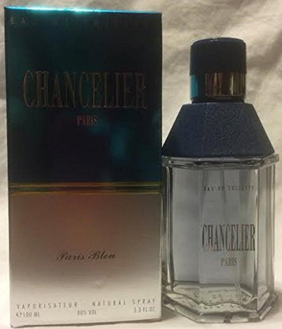 CHANCELIER BY PARIS BLEU COLOGNE FOR MEN 3.3 OZ / 100 ML EAU DE TOILETTE SPRAY