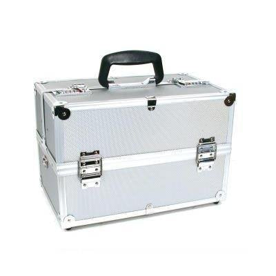 Professional Aluminum Makeup Cosmetic Beauty Train Case