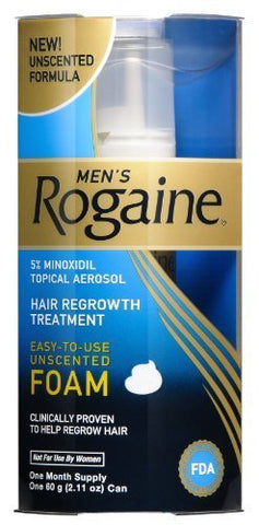 Rogaine for Men Hair Regrowth Treatment, Easy-to-Use Foam, 2.11 Ounce by Rogaine [Beauty]