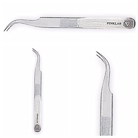 Rev Pro Curve Tweezer / single /for 3D to 6D / Eyelash Extension/ By PINKLAB