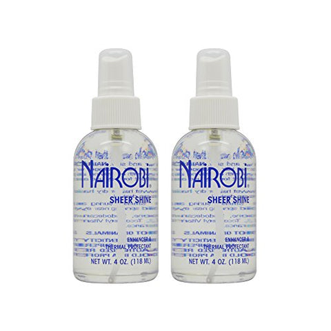 Nairobi Sheer Shine Thermal Protectant 4oz