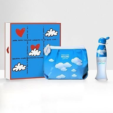 Cheap & Chic Light Clouds By Moschino Eau De Toilette Spray 50ml Spray +Pochette (Bag) Gift SET