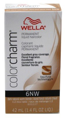 Wella Color Charm Liquid #6Nw Dark Natural Warm Blonde