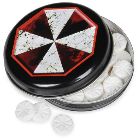Resident Evil Outbreak Mints Candy Tin Party Accessory