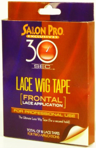 [Salon Pro] 30 Sec FRONTAL LACE APPLICATION Lace Wig Tape