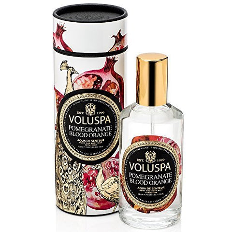 Voluspa Maison Rouge Collection Home & Body Spray Pomegranate Blood Orange 3.8 oz