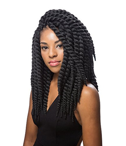 INNOCENCE Senegal Twist 12  Bounce (#1B Off Black)