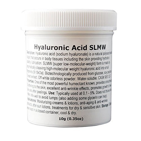 Hyaluronic Acid (Super Low Molecular Weight) - 0.35oz / 10g