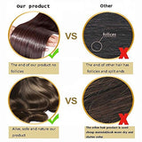 FIRSTLIKE 24  Straight Dark Red Wrap Around Ponytail Clip in Hair Extensions Long Hairpiece Colors For Ladies Beauty