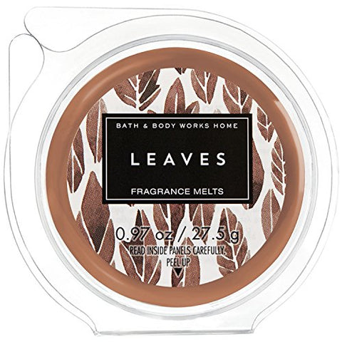 Bath & Body Works Wax Home Fragrance Melt Leaves 2017