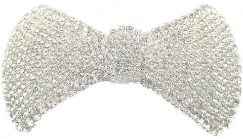 Crystal White Barrette AD86015-6805