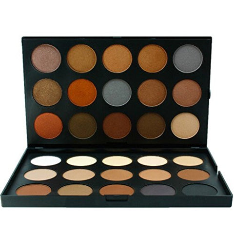 Pure Vie Professional 30 Colors Eyeshadow Palette Makeup Contouring Kit for Salon and Daily Use