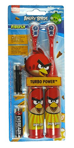 Firefly Angry Birds Turbo Power Toothbrushes