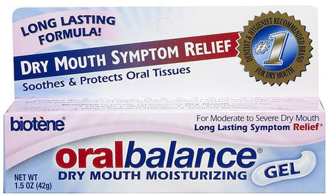 Biotene Oralbalance Dry Mouth Moisturizing Gel -- 1.5 oz - 2PC