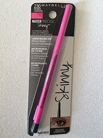 Master Precise Skinny Automatic Pencil  230 Refined Charcoal by Maybelline
