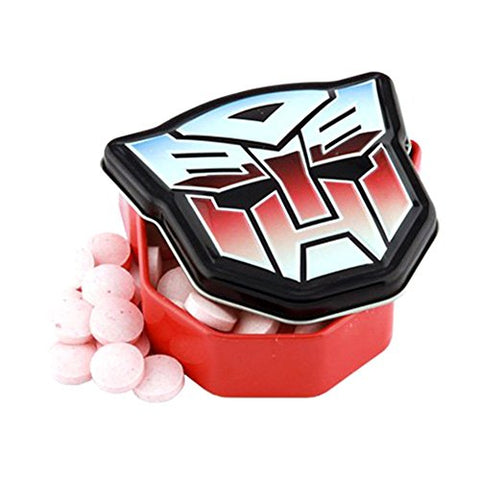 Official Transformers Autobots Logo Tinned Sour Sweets x 1