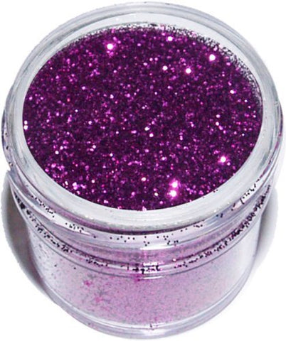 ART GLITTER #15 FUCHSIA, ULTRAFINE OPAQUE GLITTER 2 OZ JAR