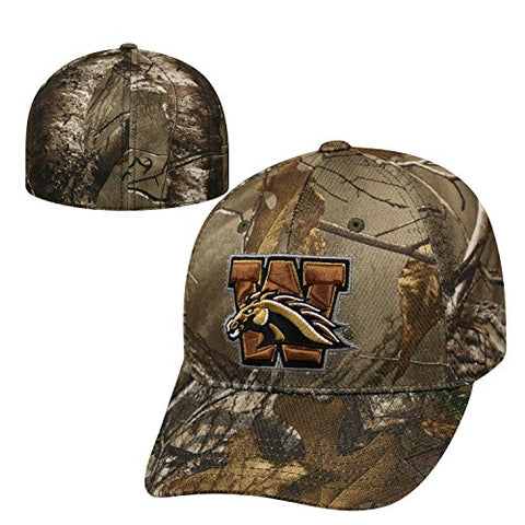 Western Michigan Broncos Official NCAA One Fit RTX Brand 1 Hat by Top of the World 209221