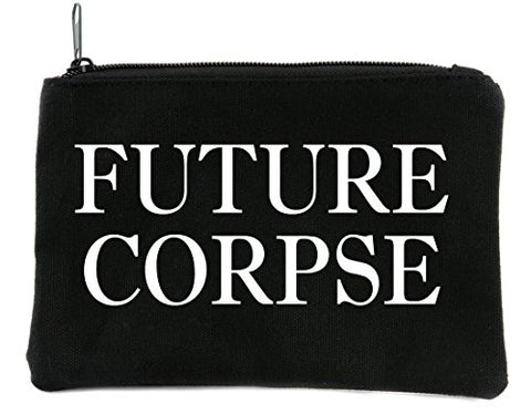 Future Corpse Cosmetic Makeup Bag Alternative Gothic Accessories