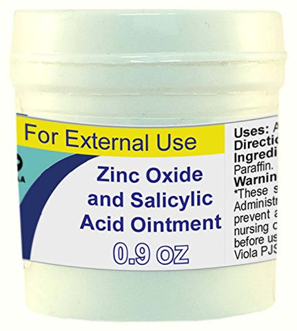 Zinc and Salicylic Acid Ointment (Lassar's Paste) 25g/0.9 Oz