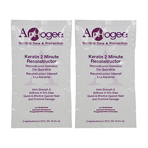 ApHogee Keratin 2 Minute Reconstructor 0.35oz (2 Applications)