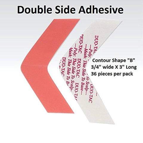 Duo Tac Tape Shape B Double Side Adhesive 36-pcs per pack