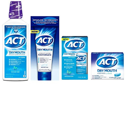 ACT Dry Mouth Relief Complete Regimen
