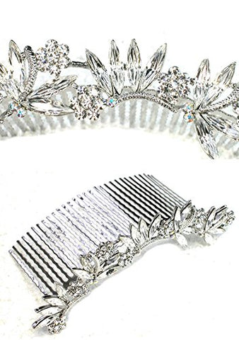 Faship Clear Dragonfly Big Huge Hair Comb