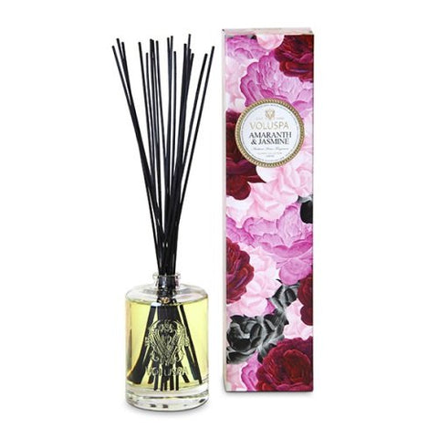 Voluspa Amaranth and Jasmine Home Ambience Diffuser 6 oz