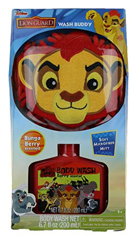 Kids Character Body Wash Buddy With Scrubby (The Lion Guard)