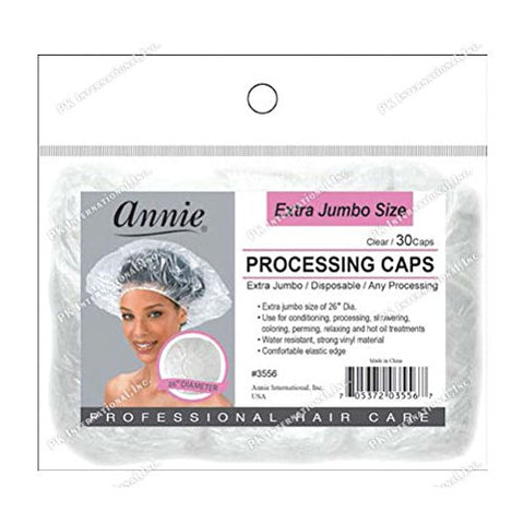 Annie Extra Jumbo Size Processing Caps 30Pcs 26 D #3556
