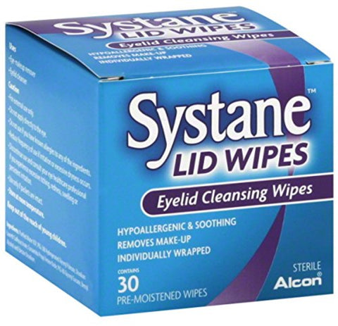 Systane Eyelid Cleansing Wipes, 30 Count