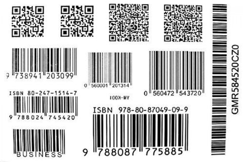 Fashion Tattoo sticker Watertight black and white models barcode tattoo