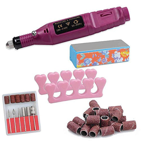 CHIMAERA Quiet and Smooth Electric Manicure Drill File Nail Polish Pen
