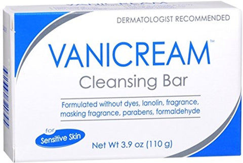 Vanicream Cleansing Bar for Sensitive Skin 3.90 oz