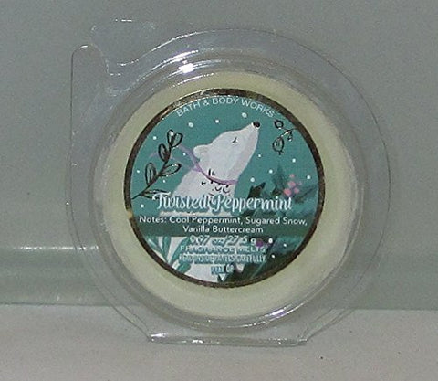 Bath & Body Works Wax Home Fragrance Melt Twisted Peppermint