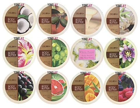 Pick Your Choice of Any 4 Packs of Delon Intense Moisturizing Body Butter