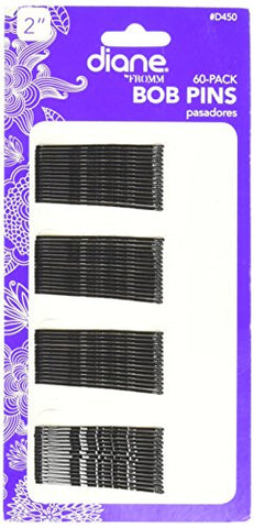 Diane Bobby Pins - 60 ct. 2   Black Bob Pins