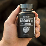 Uncut Beard Co. | Beard Growth Vitamins | #1 Selling Beard & Hair Growth Supplement in America | Get a Fuller and Thicker Beard