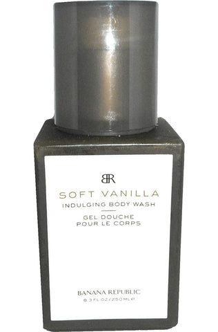 BANANA REPUBLIC SOFT VANILLA by Banana Republic for WOMEN: BODY WASH 8.4 OZ