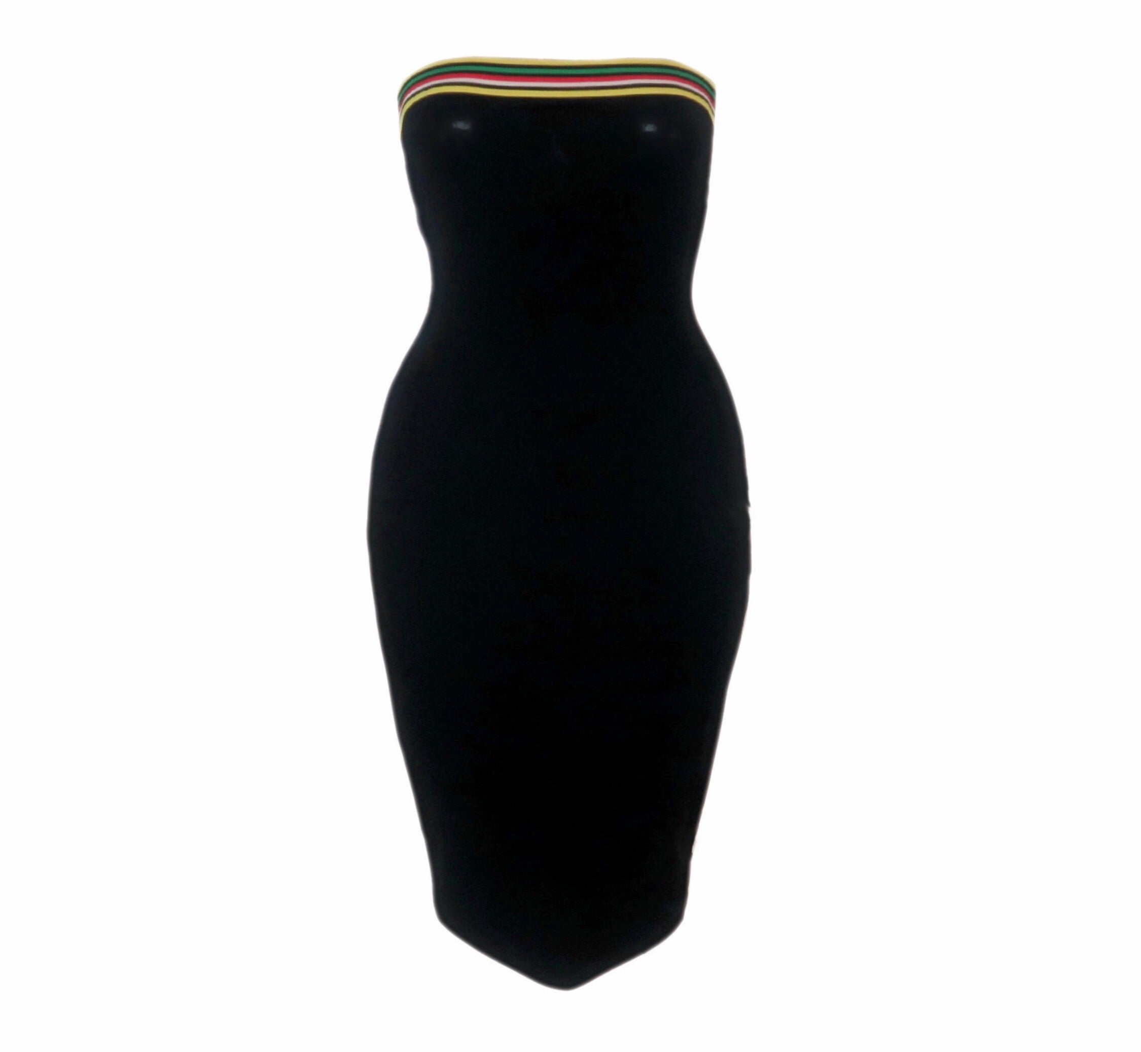 Jamaican Midi Tube Dress