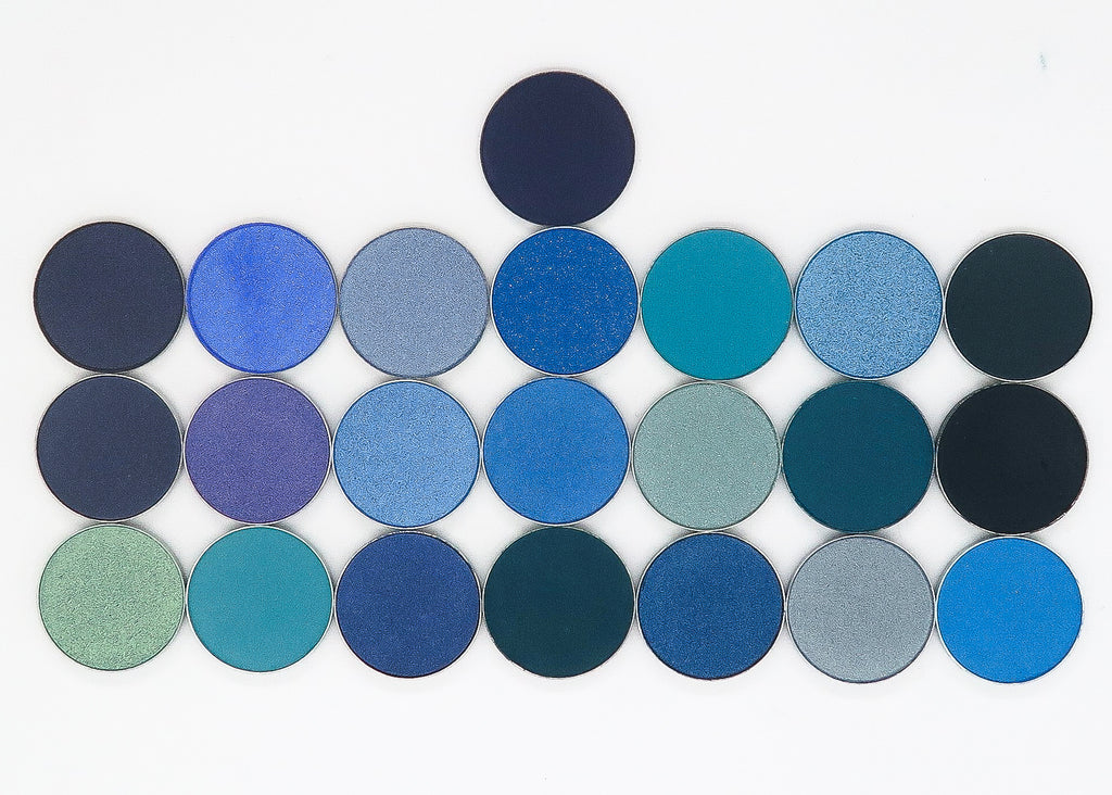 CAM Cosmetics Single Eyeshadow Pan-BLUES