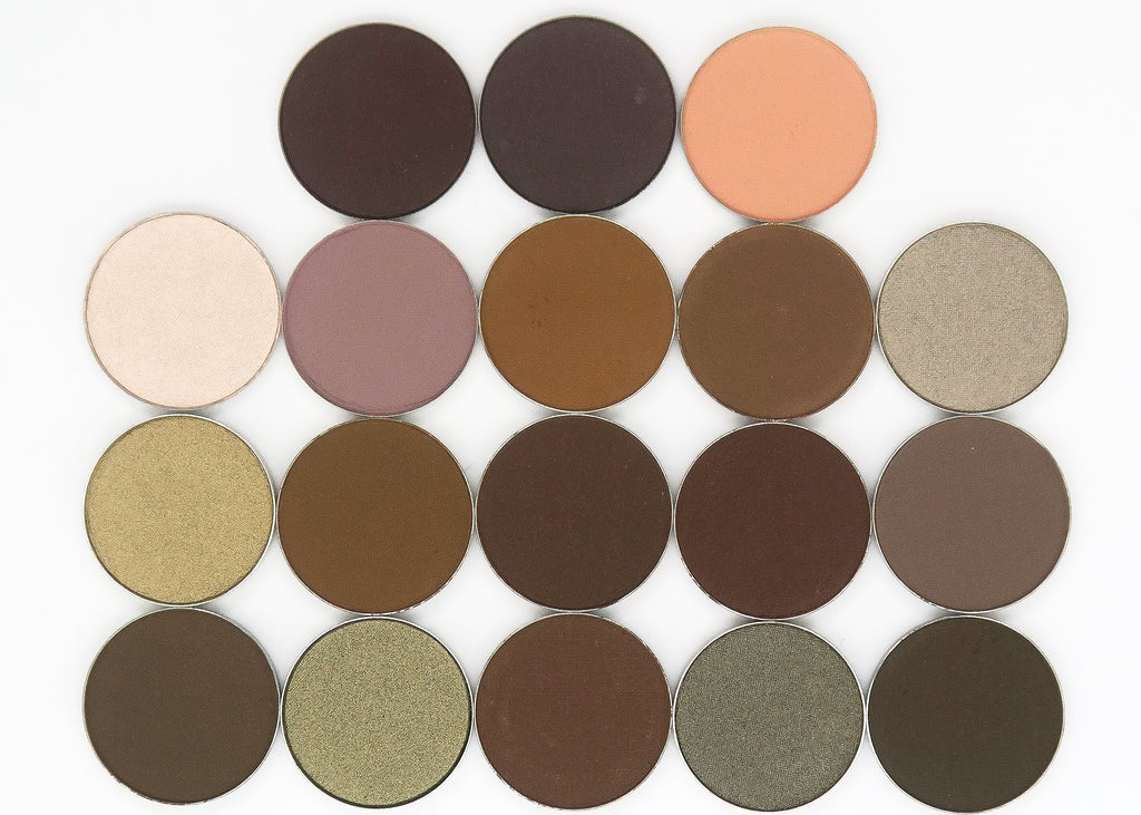 CAM Cosmetics Single Eyeshadow Pan-BROWNS/NUDES